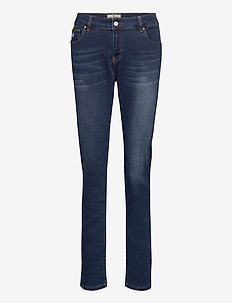 Monroe Satin Jeans - skinny jeans - blue