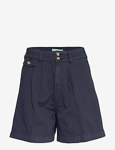 Paulette Chino Shorts - bermudas - blue
