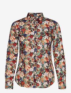 Lily Liberty Tournesol Shirt - langærmede skjorter - orange