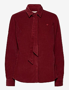Alair Cord Shirt - chemises à manches longues - wine red