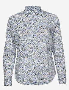 Kirsten Liberty Fleur Shirt - chemises à manches longues - blue