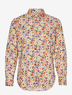 Kirsten Liberty Fleur Shirt - chemises à manches longues - yellow