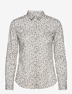 Lily Liberty Petit Fleur Shirt - chemises à manches longues - light blue
