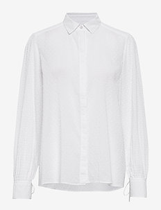 Leonie Blouse - overhemden met lange mouwen - white