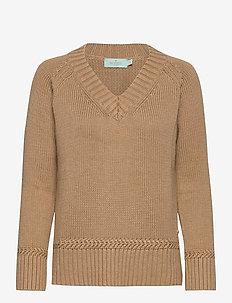Marcella Knit - tröjor - camel