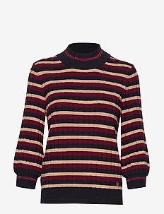 Allie Knit - WINE RED