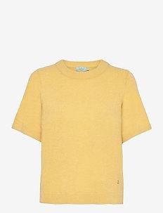 Jean Knit - strikkede toppe - yellow