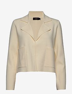Valere Knit Jacket - cardigans - off white