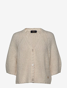Coralie Knit - cardigans - off white