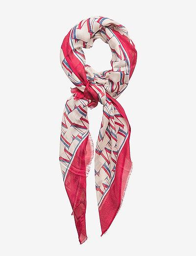 Morris Lady Scarf - tynde tørklæder - cerise