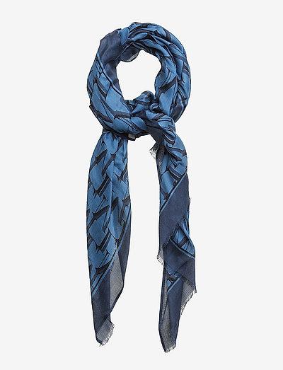 Morris Lady Scarf - tynde tørklæder - light blue