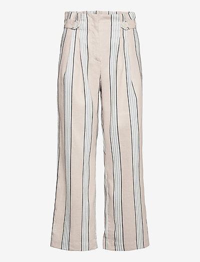 Elsa Trousers - pantalons larges - khaki