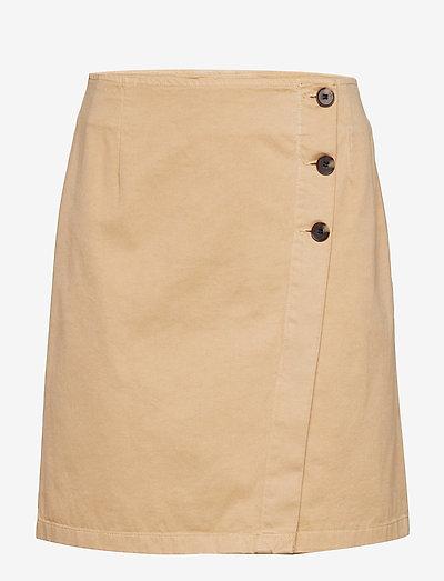 Raphaelle Skirt - jupes courtes - khaki