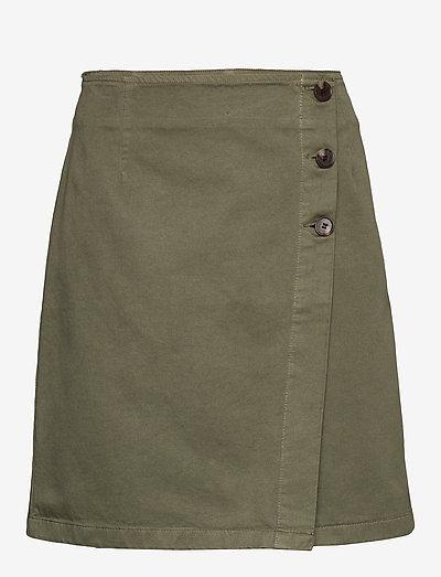 Raphaelle Skirt - jupes courtes - olive