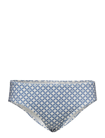 Fae Pattern Bikini Bottom - LIGHT BLUE