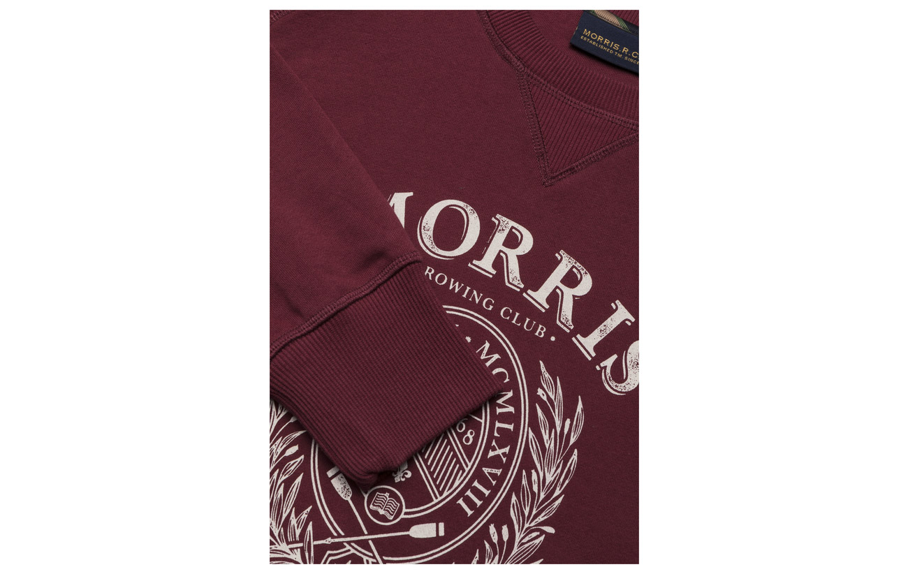 Dale Morris Morris Wine Dale Morris Wine Red Sweatshirt Sweatshirt Dale Red qqHwOS