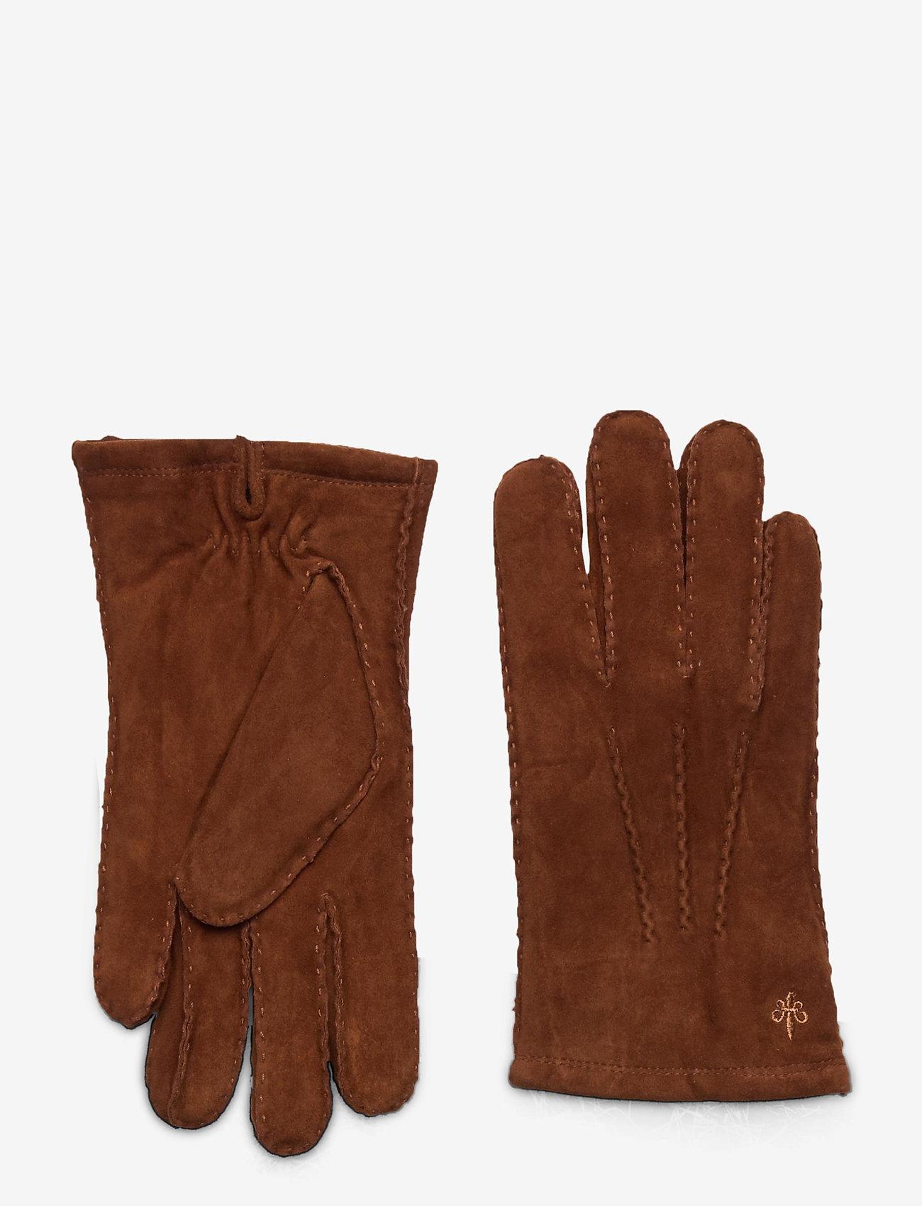 Morris - Morris Suede Gloves - gants - camel - 0