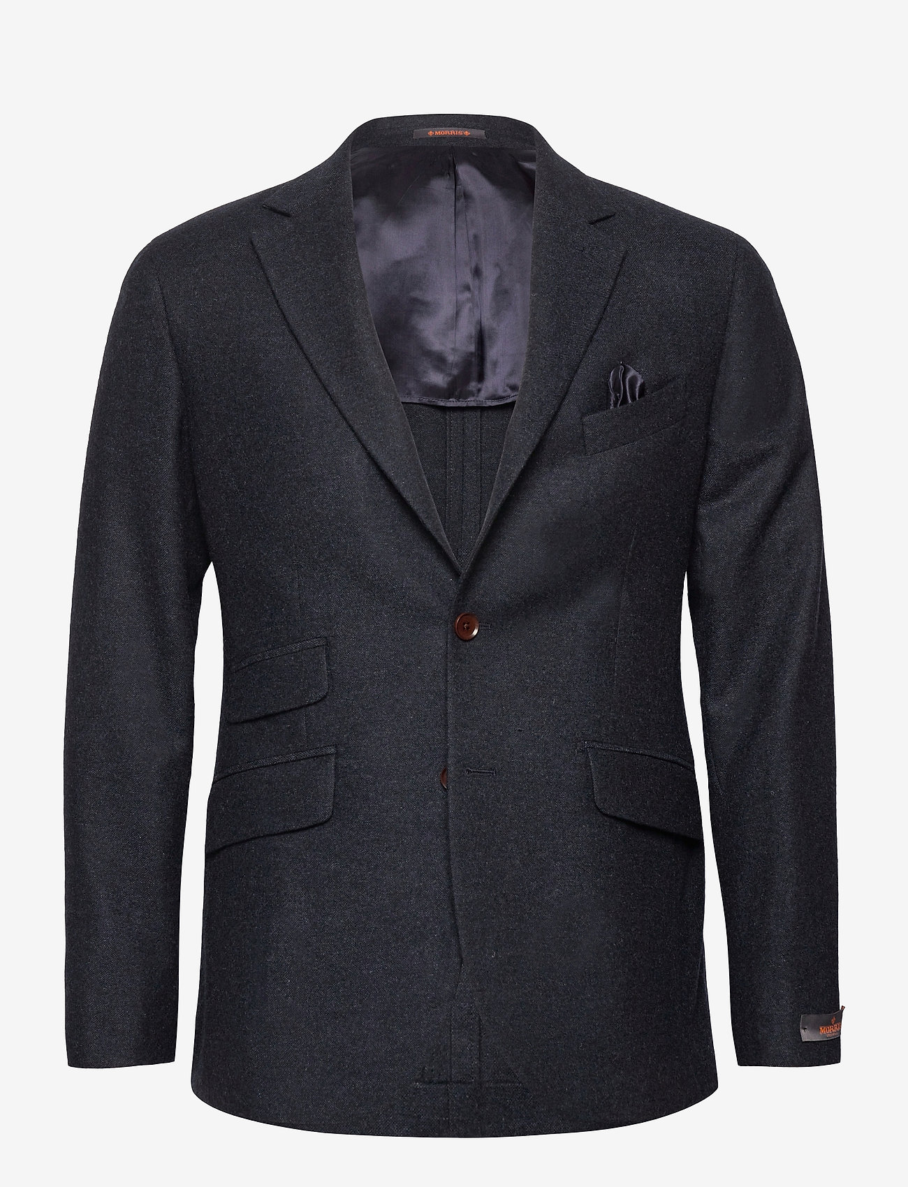Morris - Structure Jacket - single breasted blazers - navy - 0