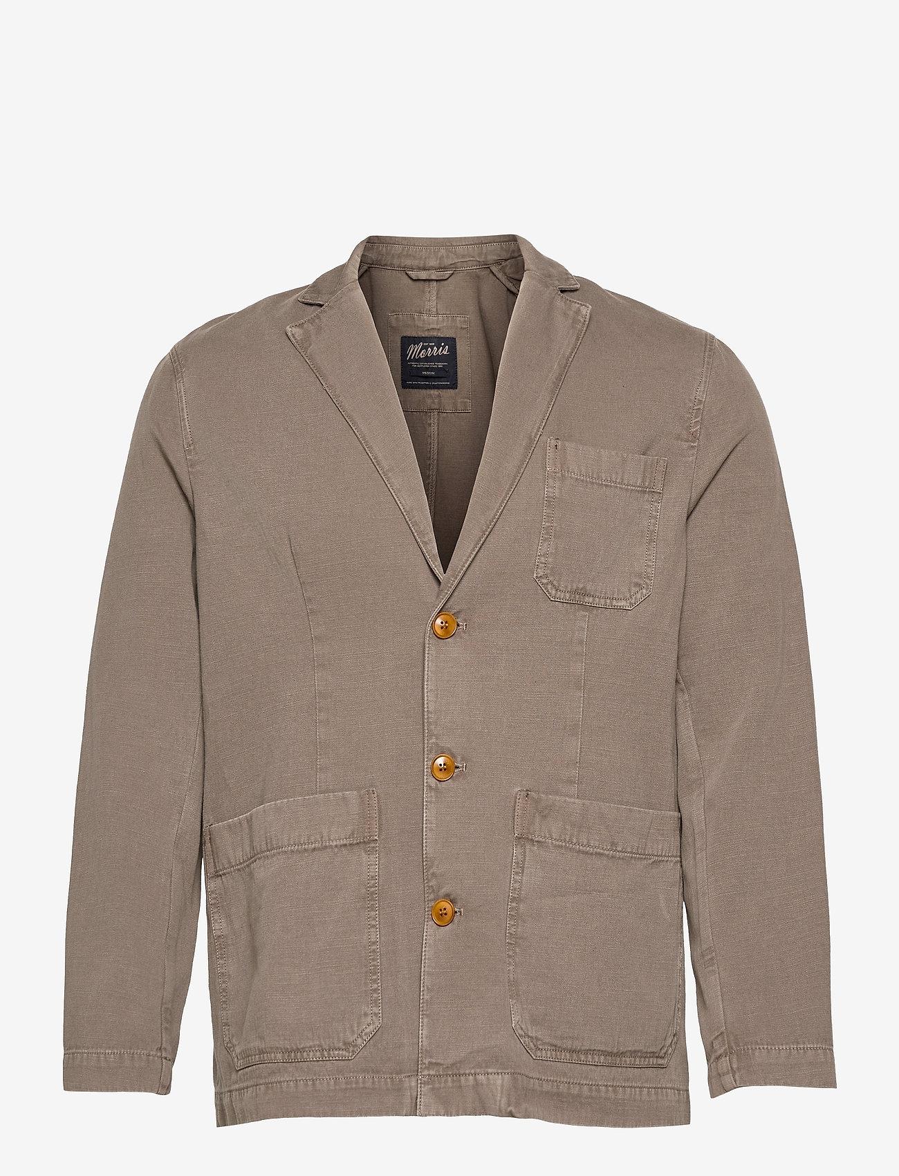 Morris - Claridge Blazer - single breasted blazers - brown - 0
