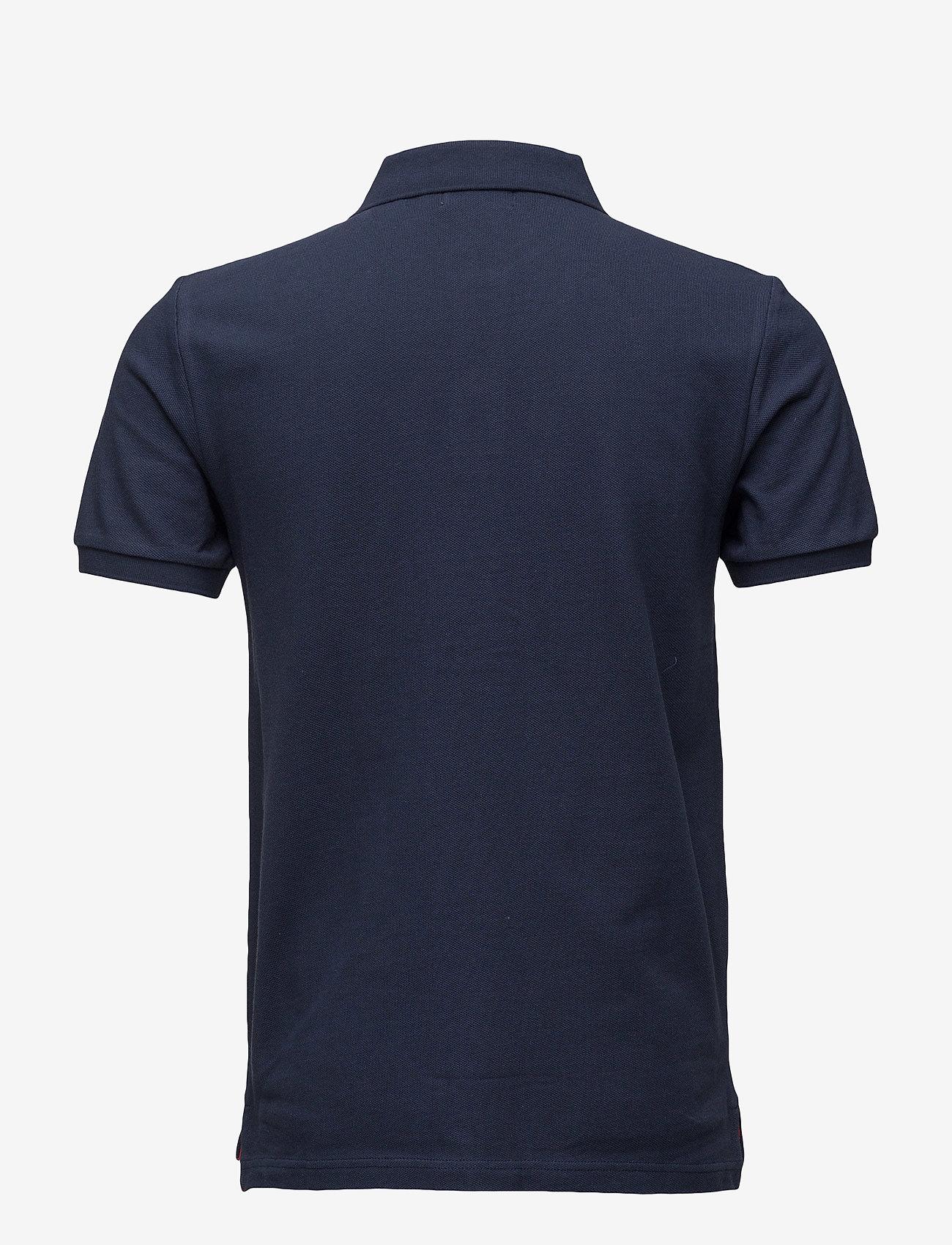 Morris - New Piqué - korte mouwen - old blue