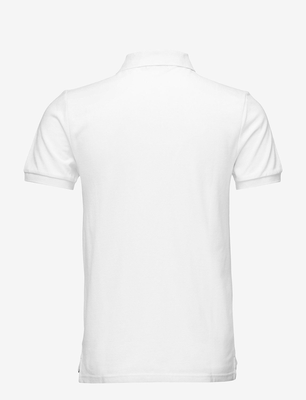 Morris - New Piqué - lyhythihaiset - white - 1