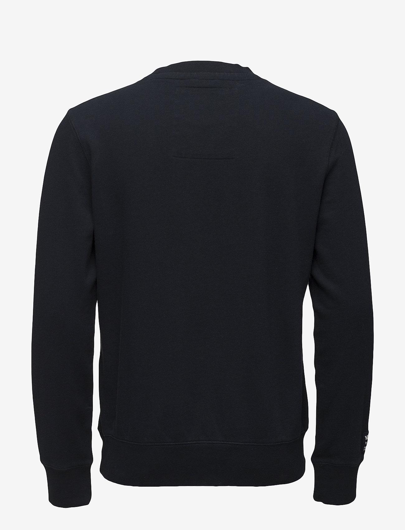 Morris - Brown Sweatshirt - sweatshirts - navy