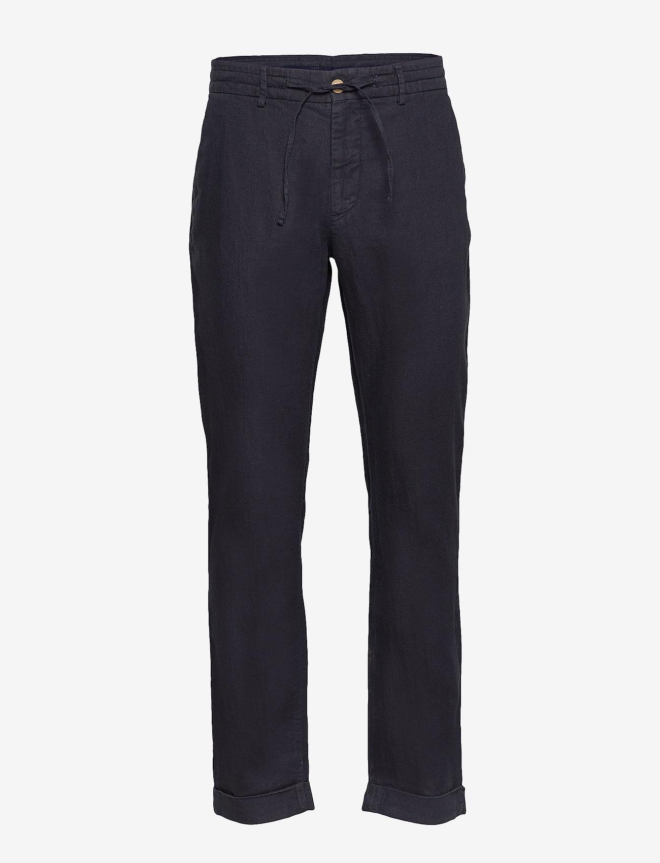 Morris - Winslow Slacks - spodnie na co dzień - blue - 0