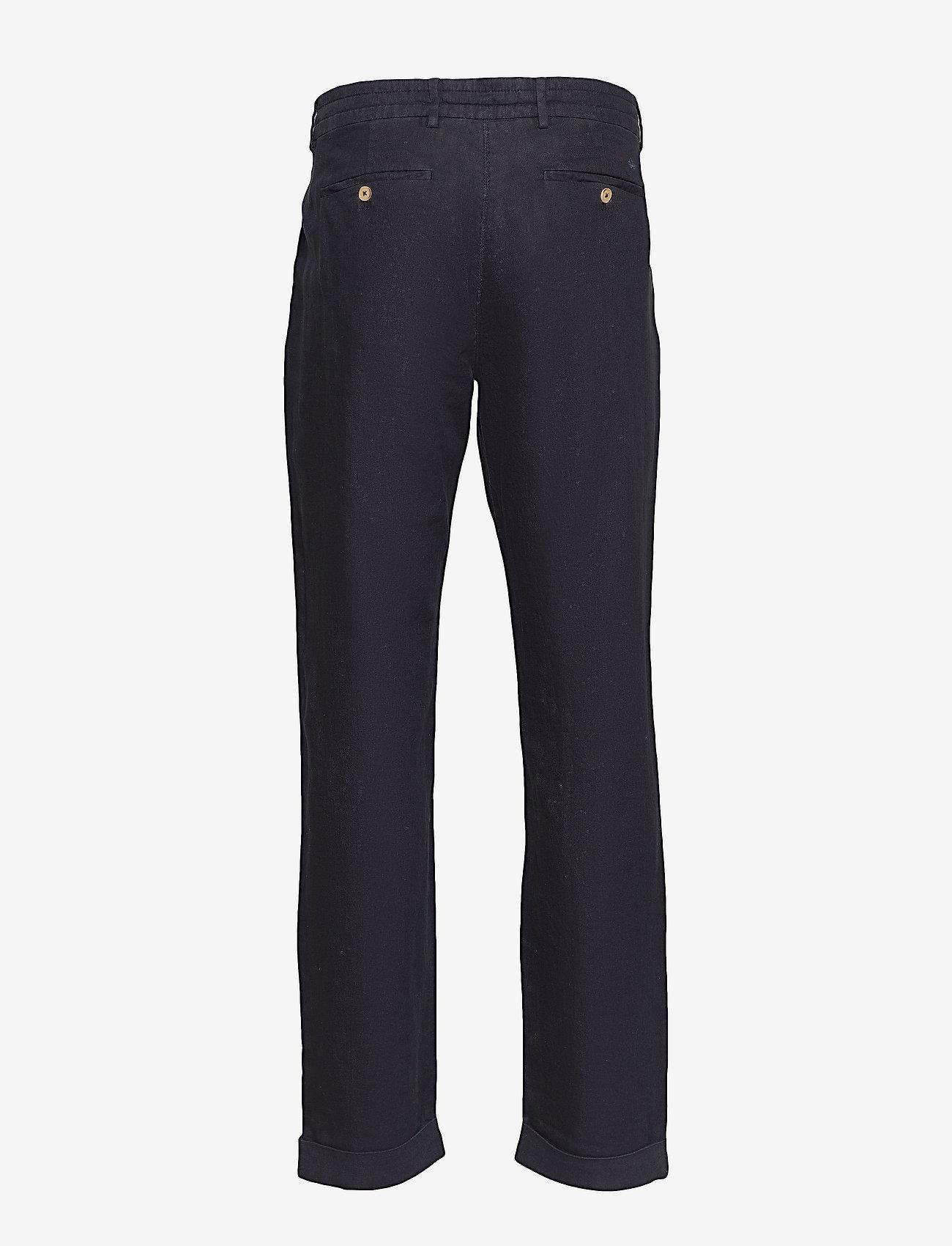 Morris - Winslow Slacks - spodnie na co dzień - blue - 1