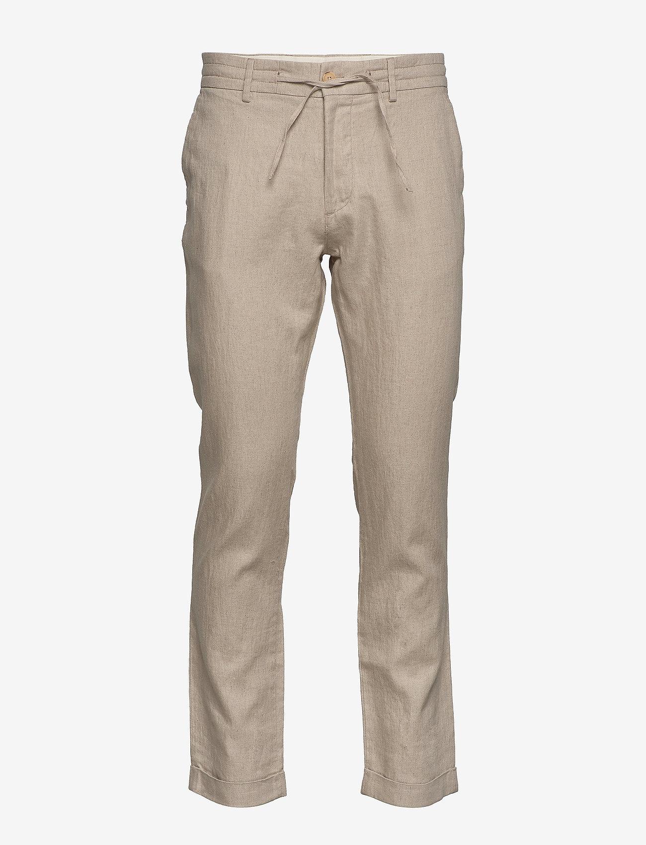 Morris - Winslow Slacks - spodnie na co dzień - khaki - 0