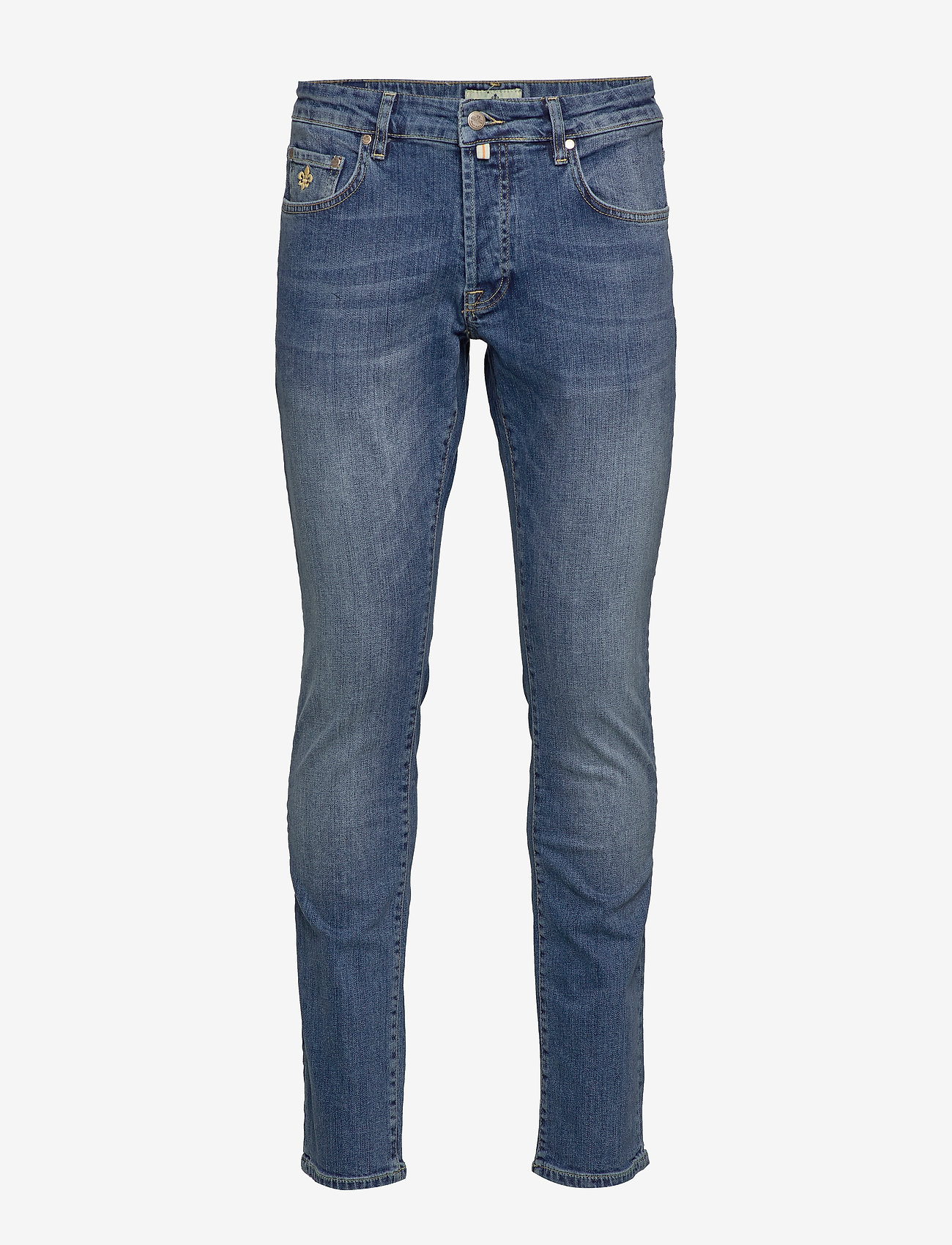 Morris - Steve Jeans - slim jeans - semi dark wash - 0