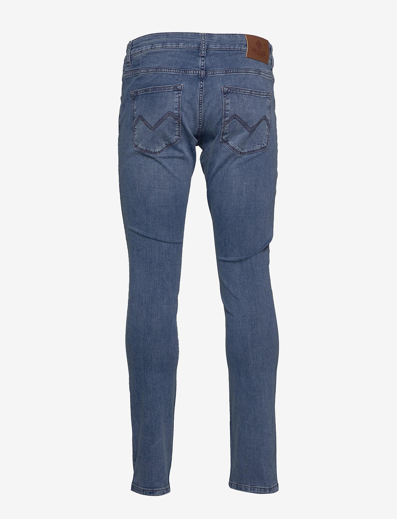 Steve Satin Jeans Zip (Lt Wash) - Morris lgXa1N