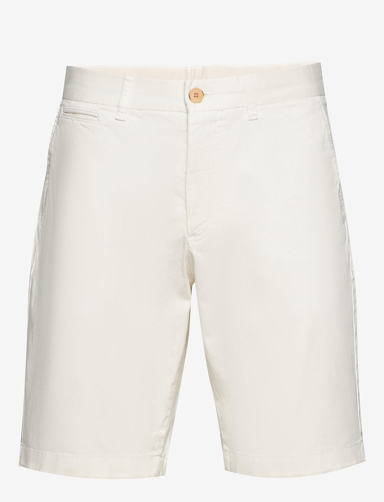 Morris - Regular Chino Shorts - spodenki chinos - off white - 0