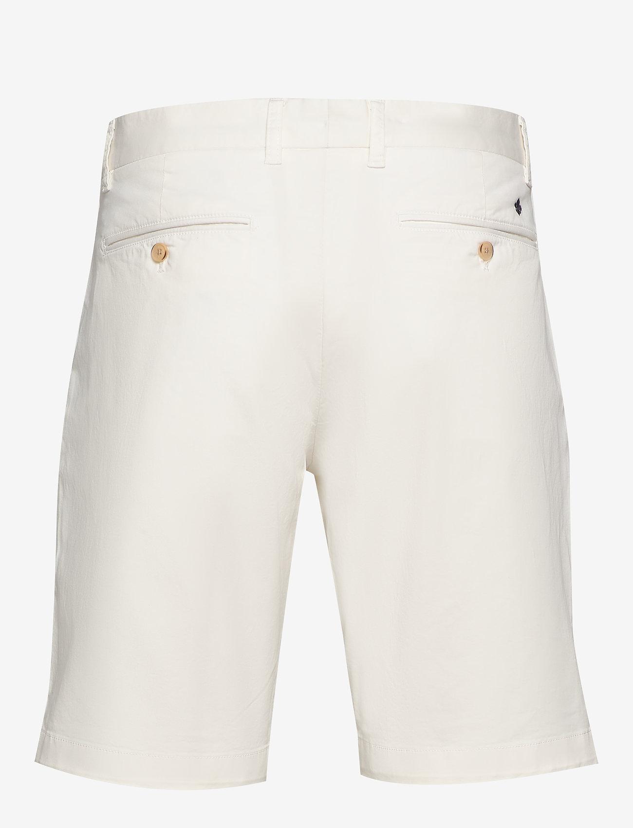 Morris - Regular Chino Shorts - spodenki chinos - off white - 1