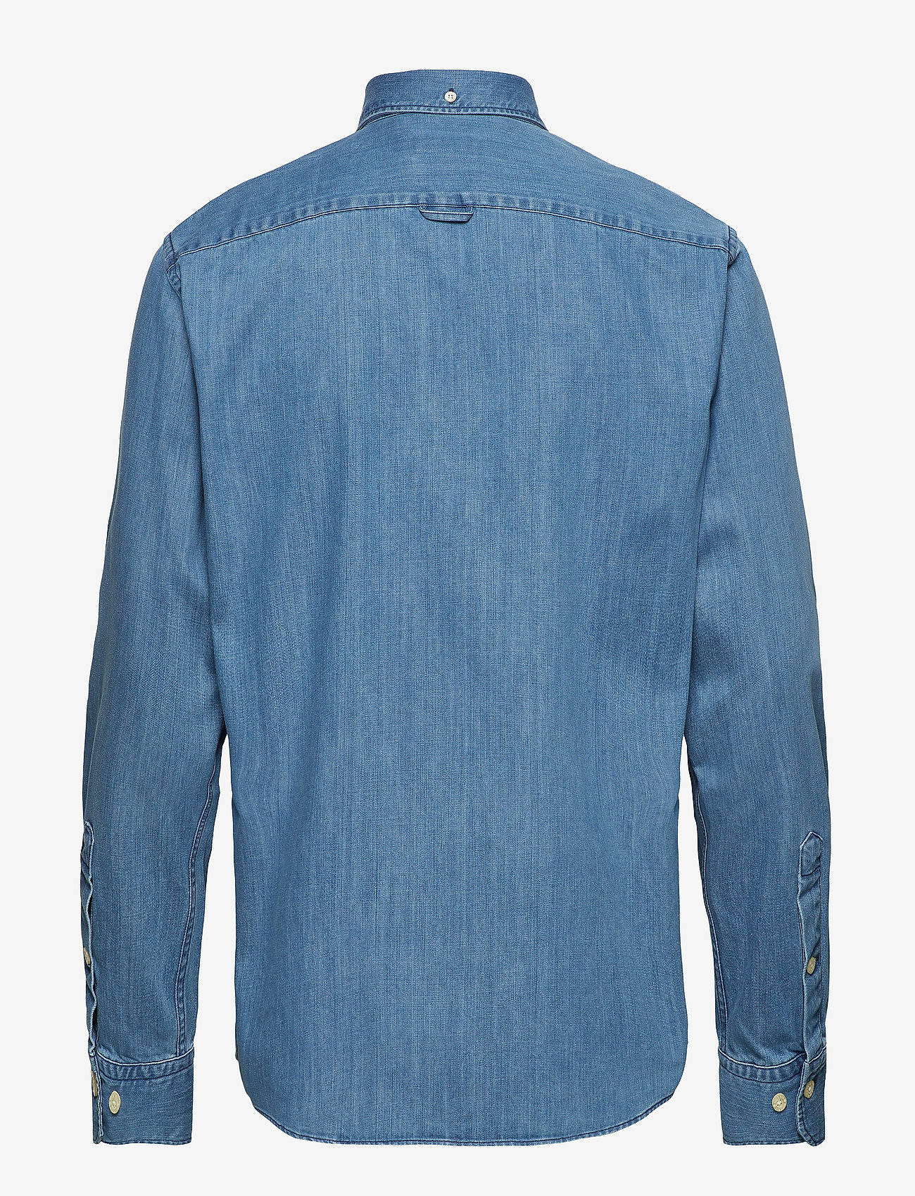 Morris - Cary Grant Denim Shirt - denim shirts - light blue - 1