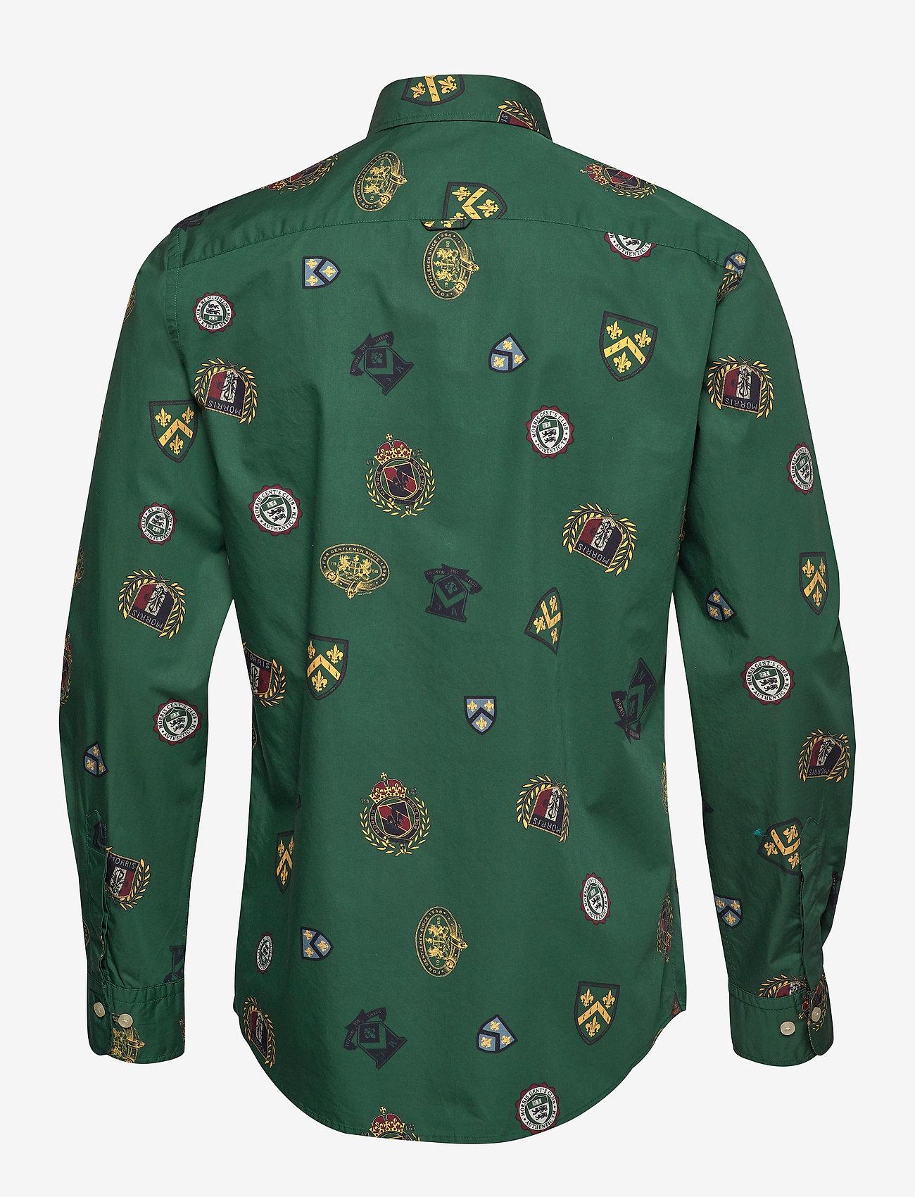 Ivan Button Under Shirt (Green) - Morris Iv9Eer