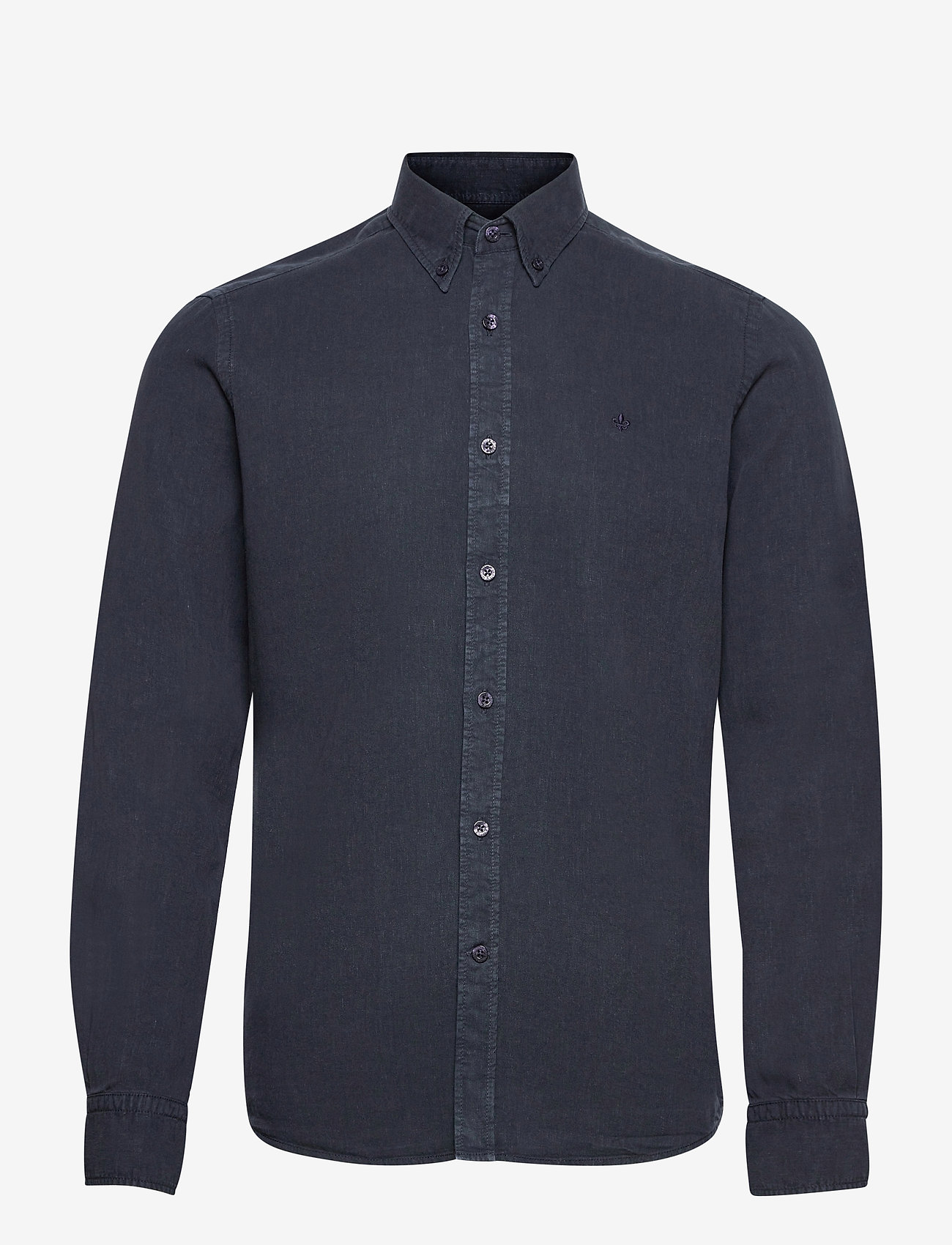 Morris - Lucien Button Down Shirt - geruite overhemden - blue - 0