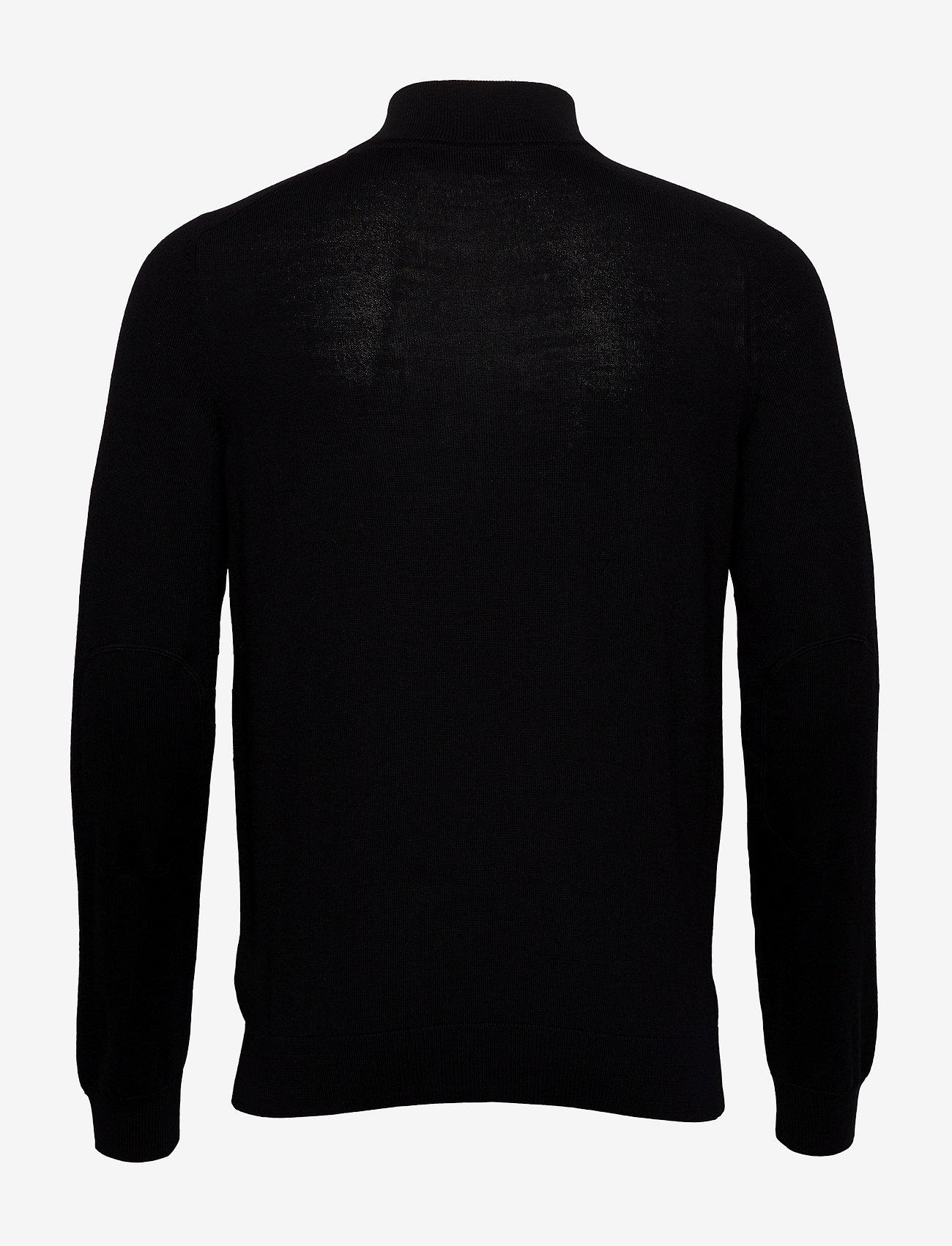 Morris Merino John Zip - Strikkevarer BLACK - Menn Klær
