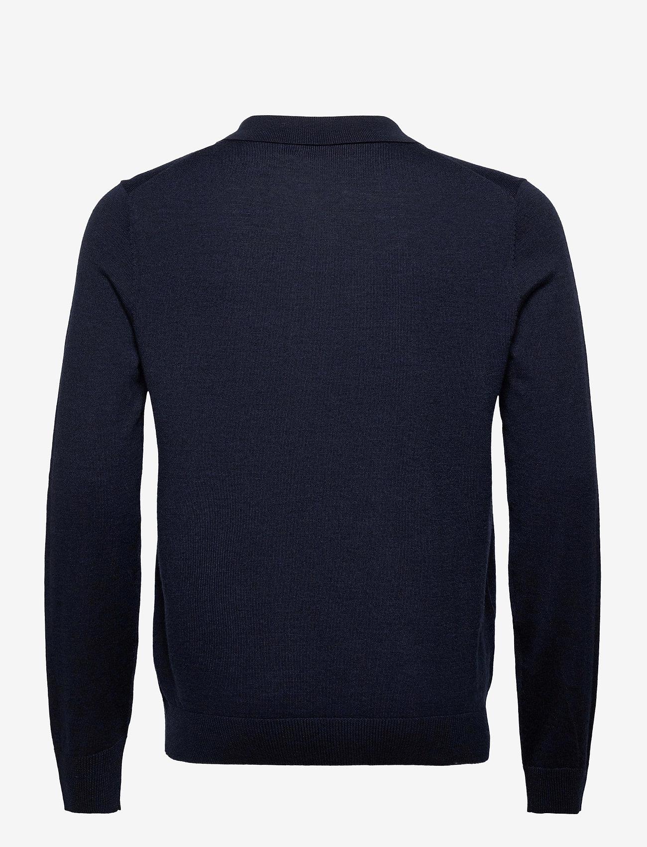 Morris Merino Polo Shirt - Poloskjorter NAVY - Menn Klær