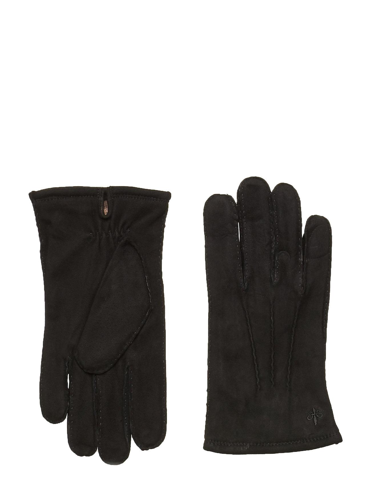 Image of Morris Suede Gloves Handsker Sort Morris (3486936905)