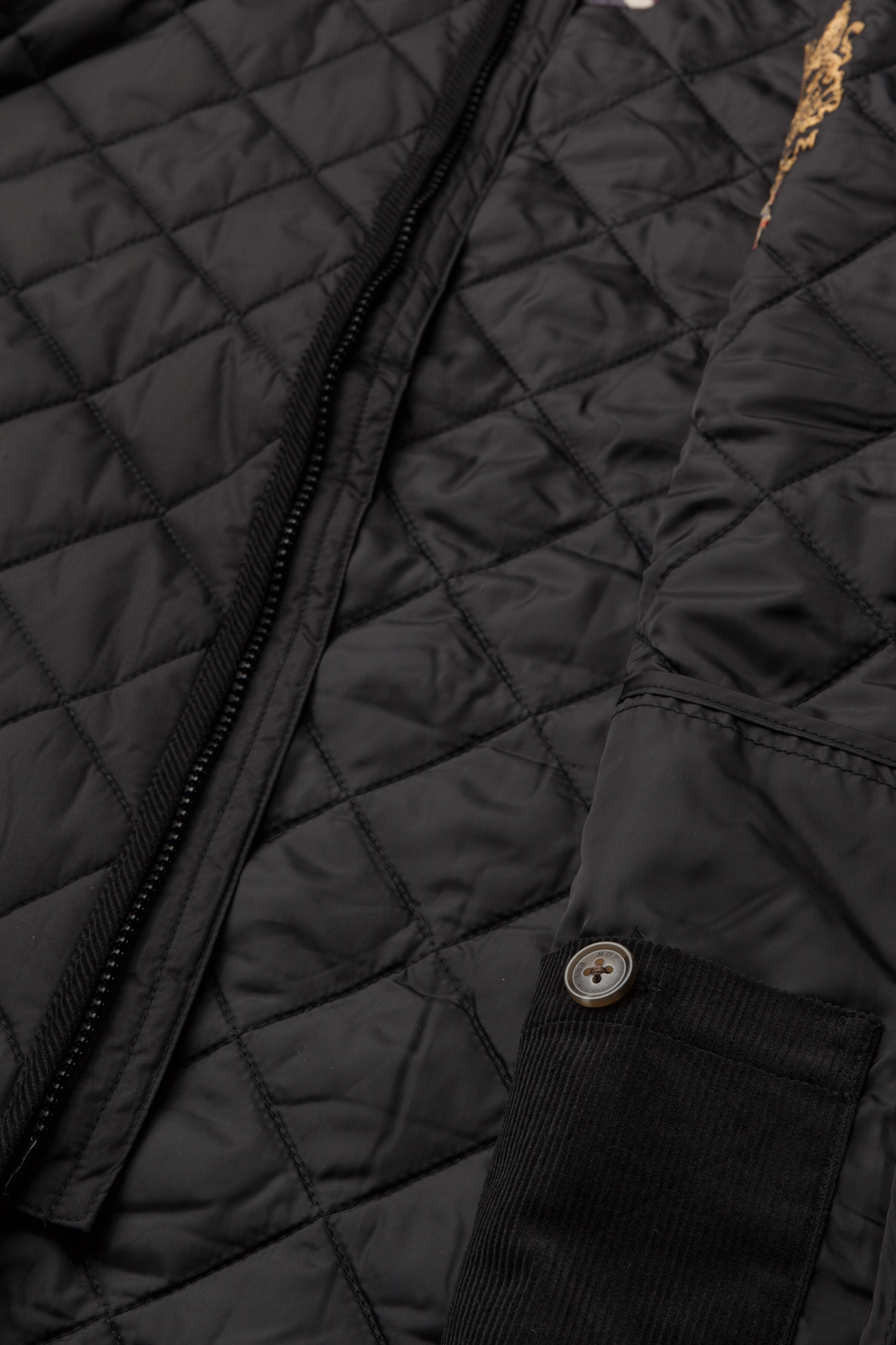 Morris Trenton Quilted Jacket - Jakker og frakker BLACK - Menn Klær