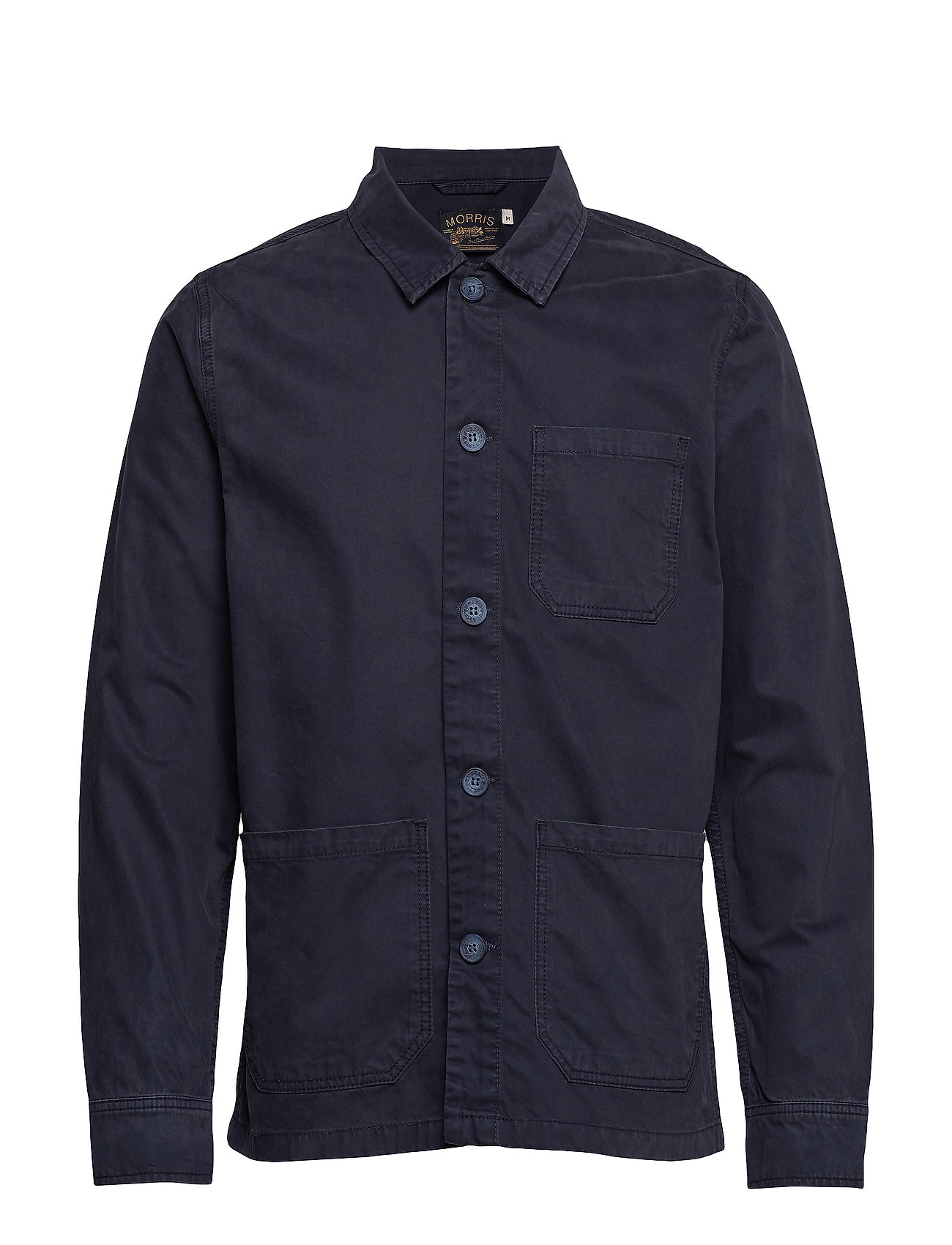 Morris Henri Shirt Jacket - BLUE