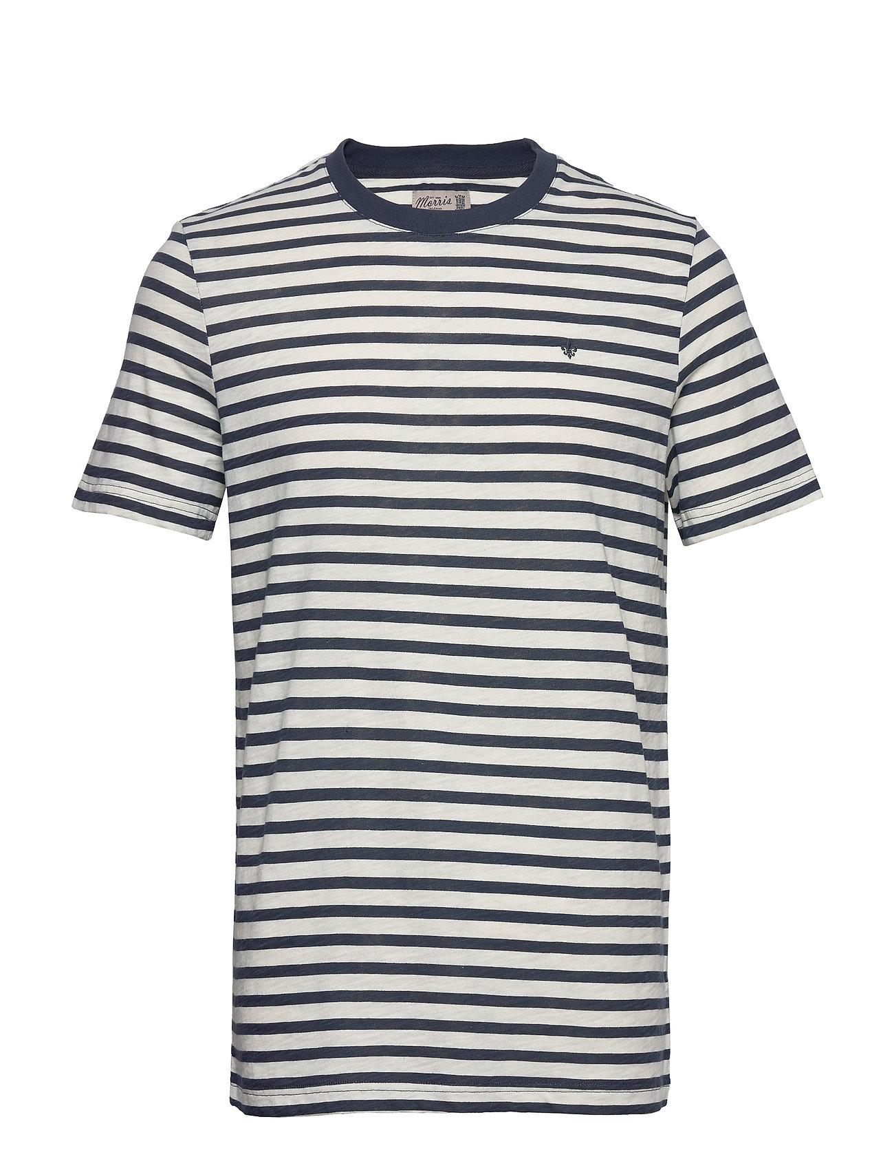 Image of Morris Stripe Tee T-shirt Blå Morris (3421208583)
