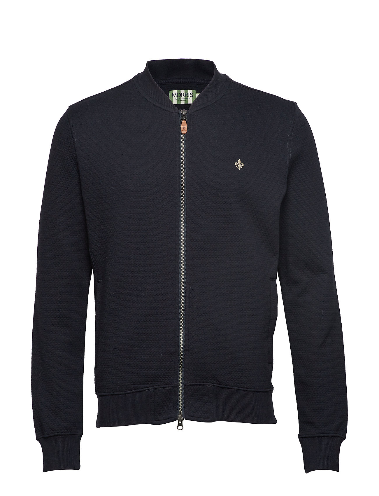 Morris Redford Zip Sweatshirt - OLD BLUE