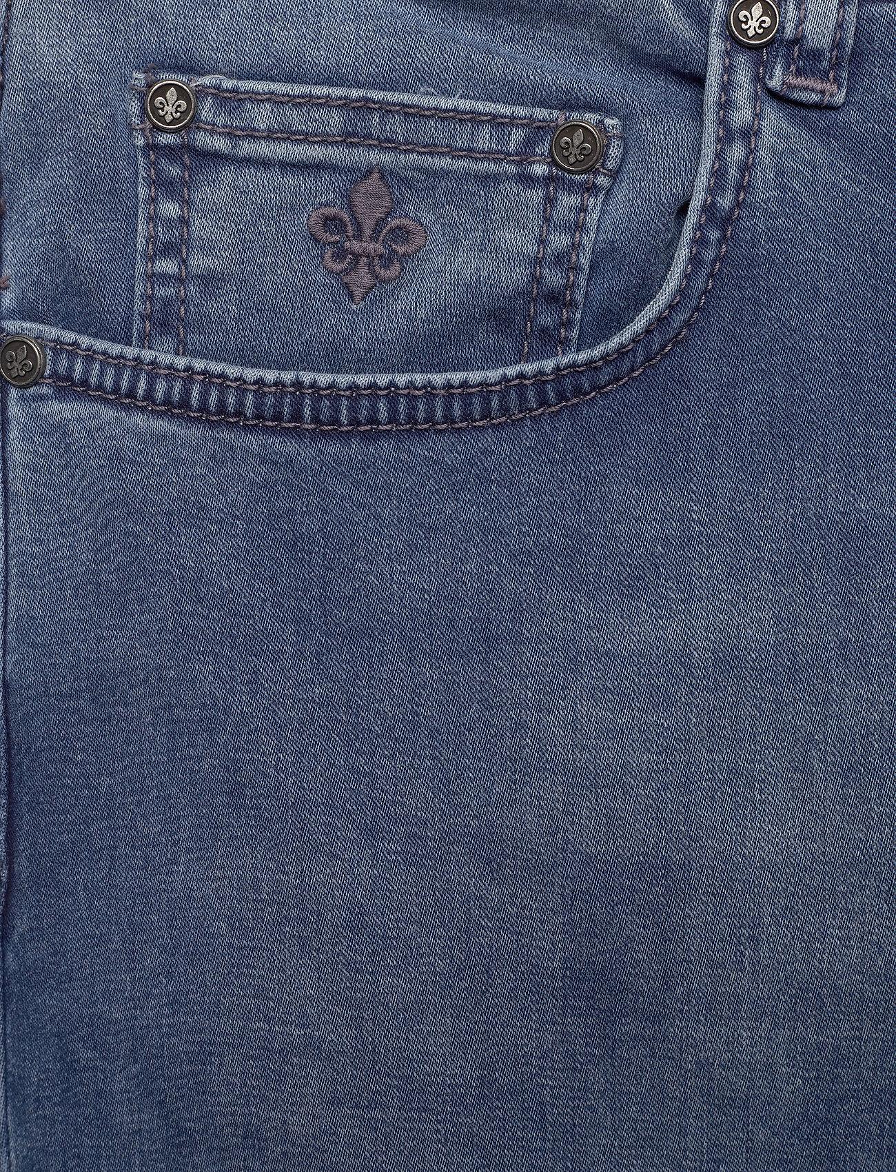 Morris Steve Satin Jeans Zip - Jeans LT WASH - Menn Klær