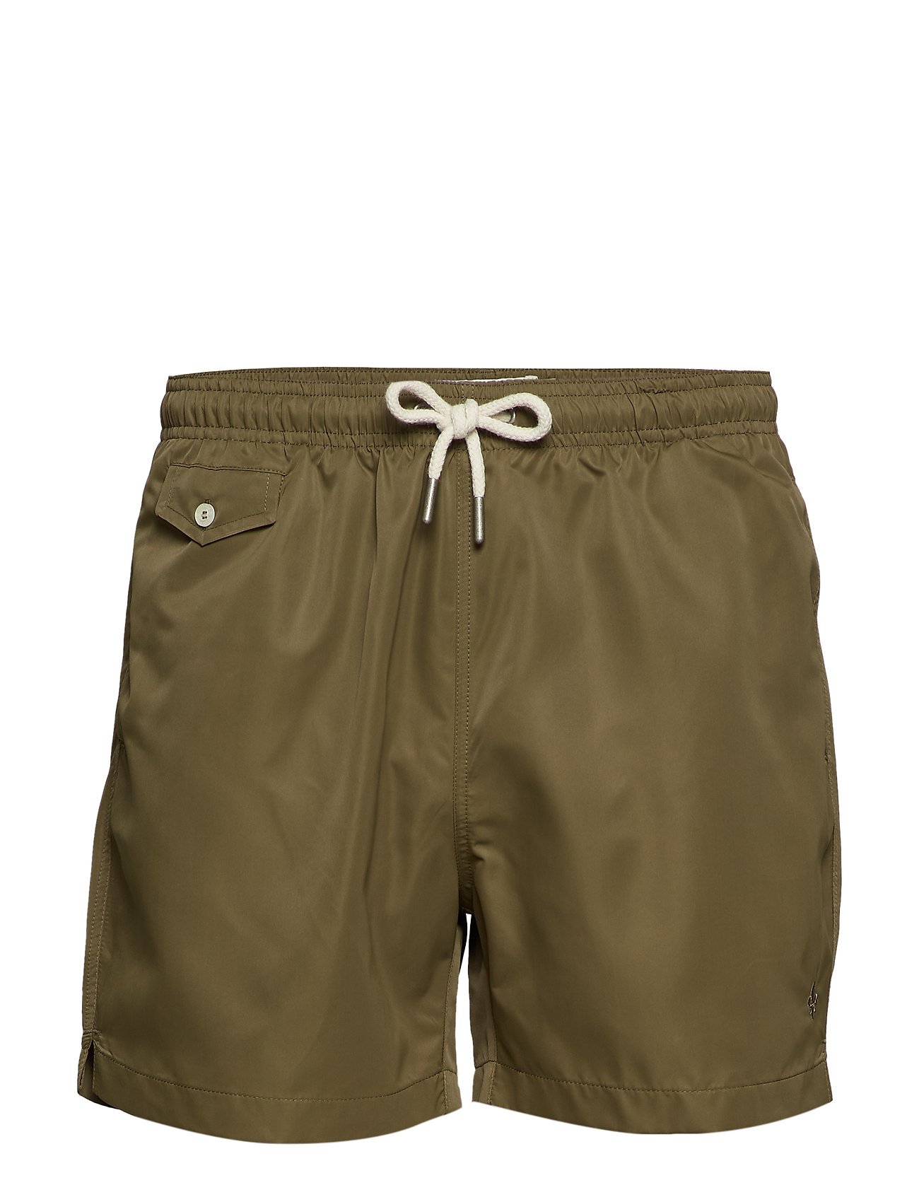 Morris Solid Bathing Trunks - OLIVE