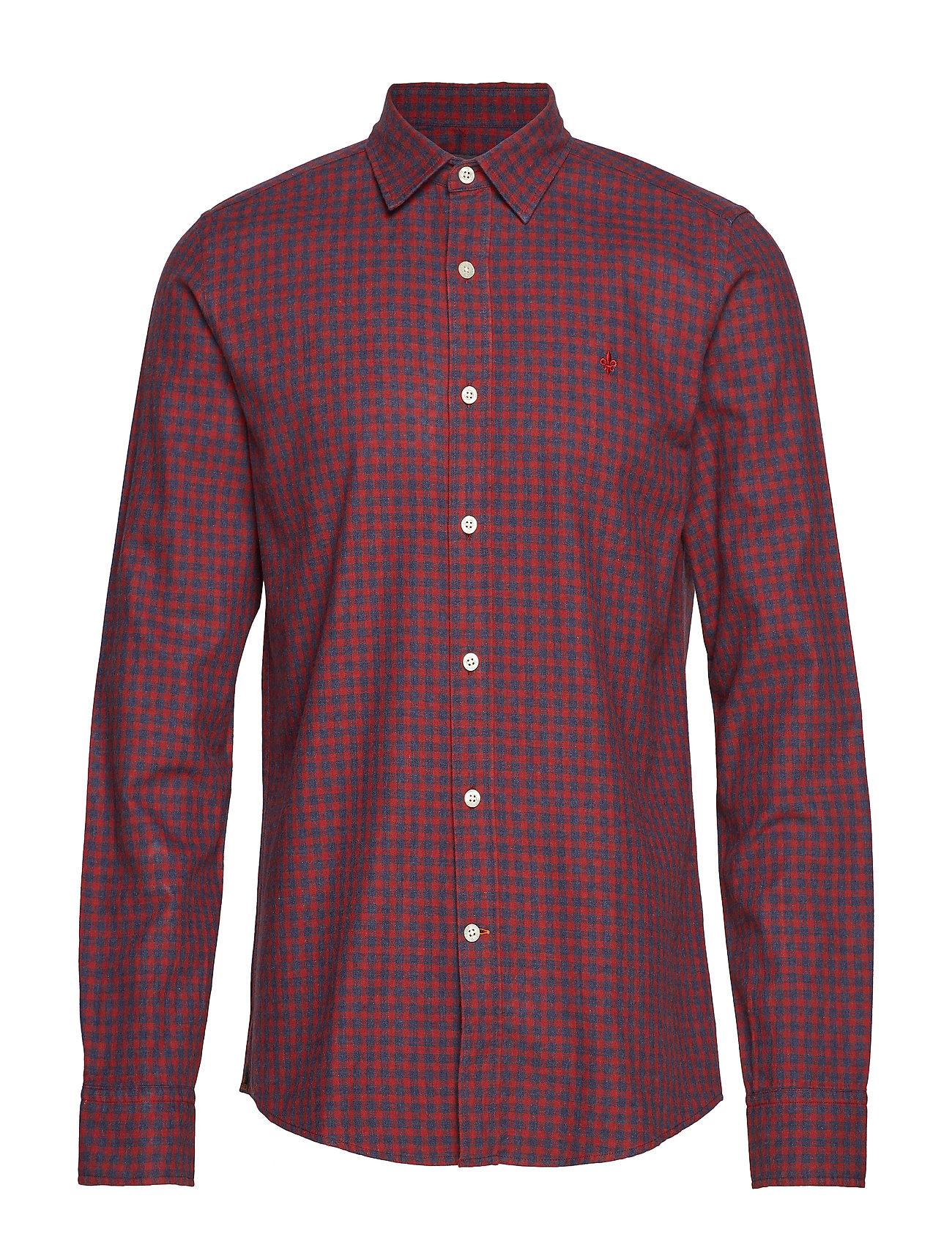 Morris Hunter Club Collar Shirt - RED