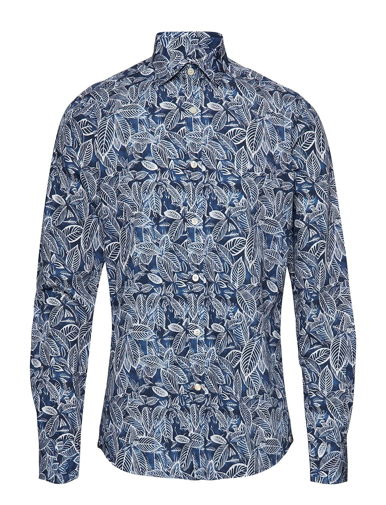Morris Jaime Spread Collar - BLUE