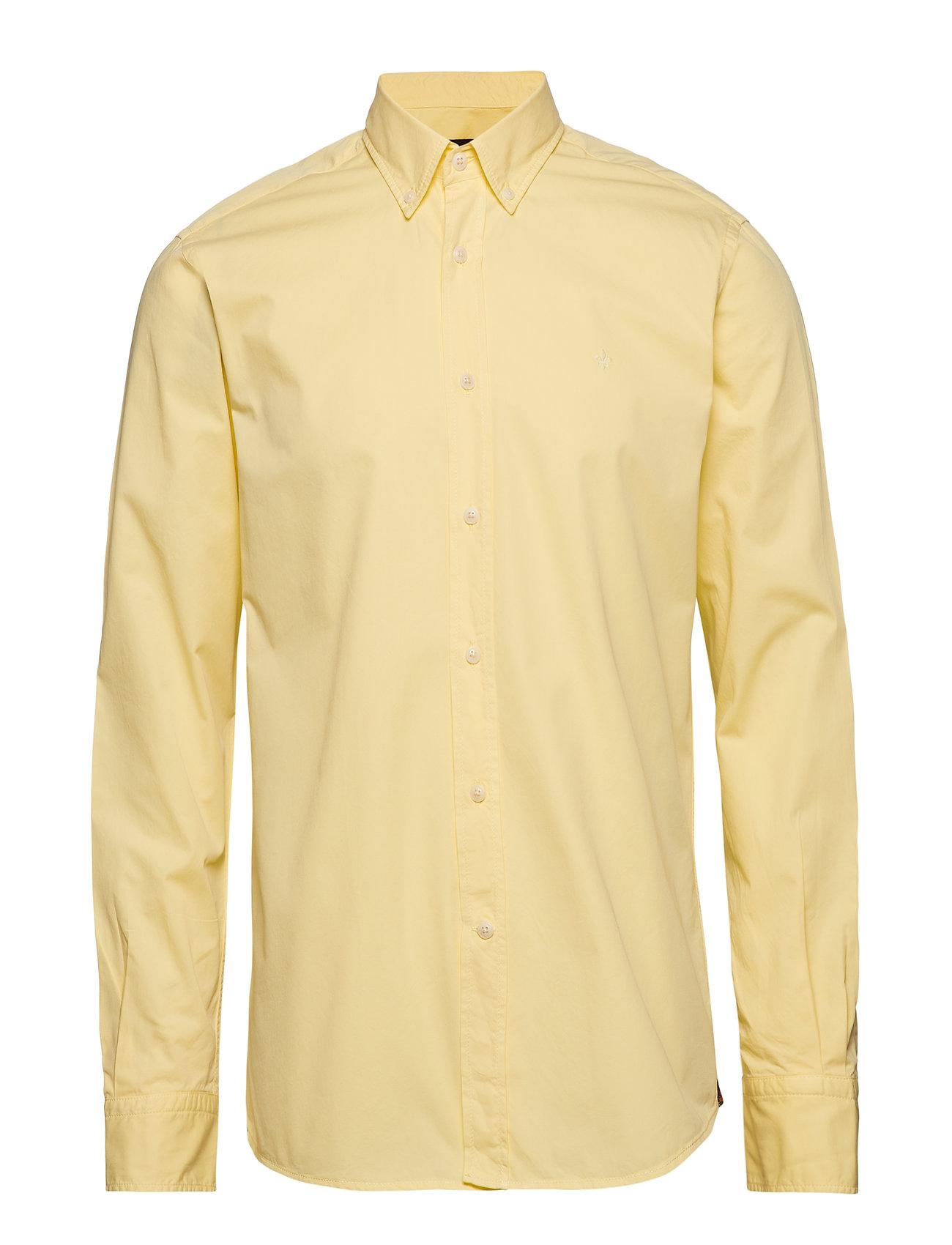 Morris Kane Button Down Shirt - YELLOW