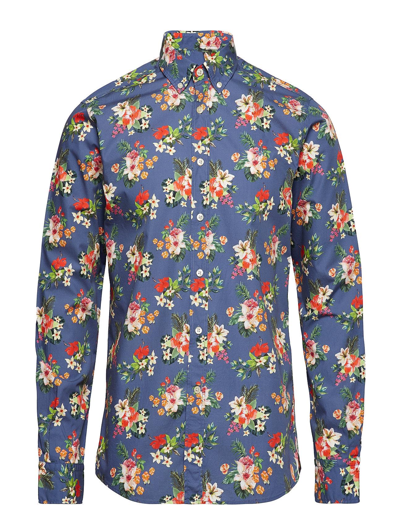 Morris Dan Button Down Shirt - NAVY