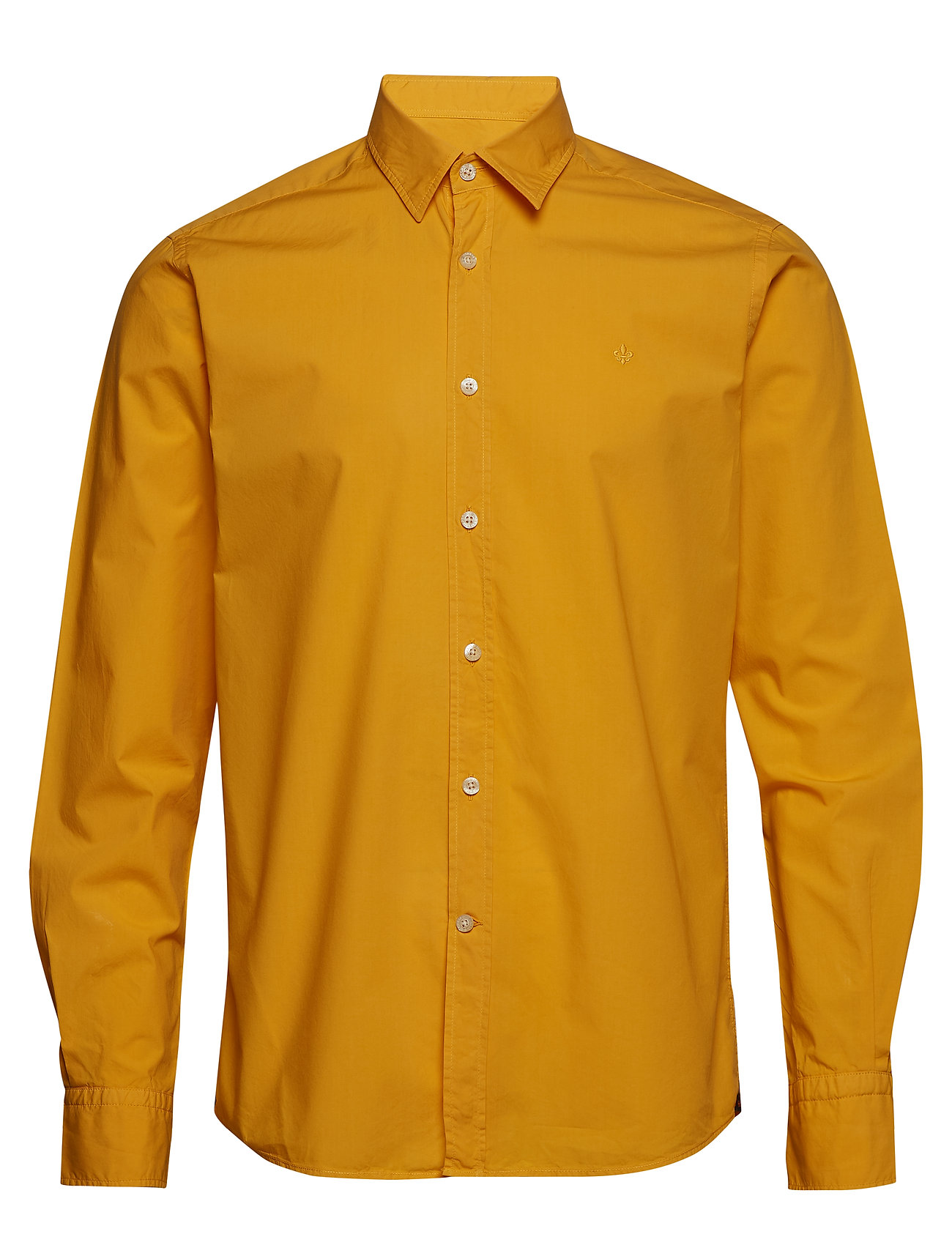 Morris Niccolo Classic Collar Shirt - YELLOW